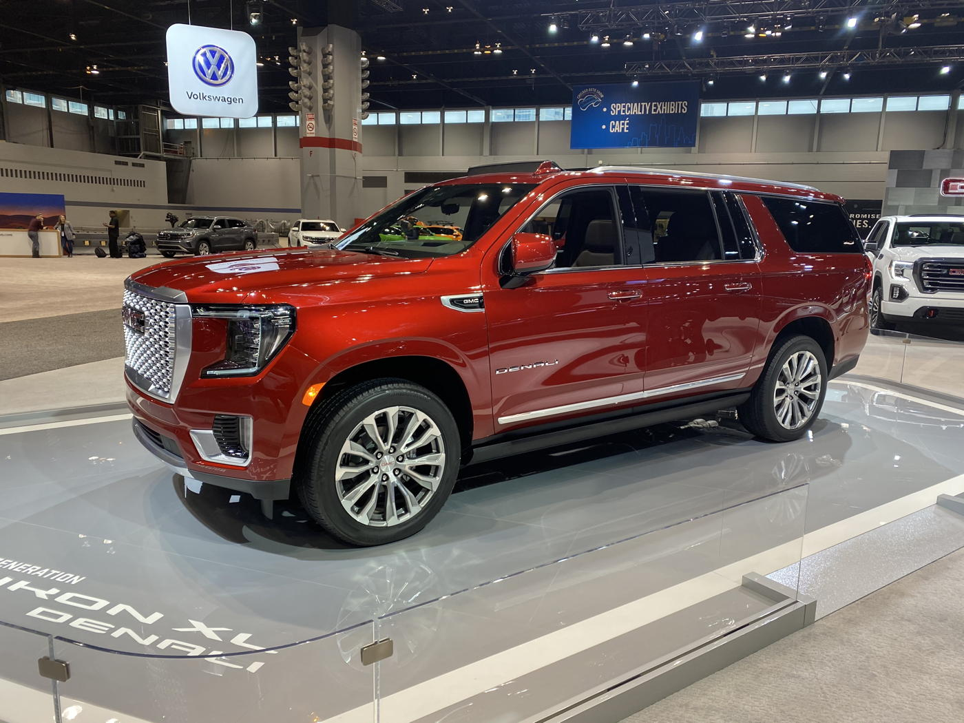 2021 GMC Yukon Denali XL at 2020 Chicago auto show