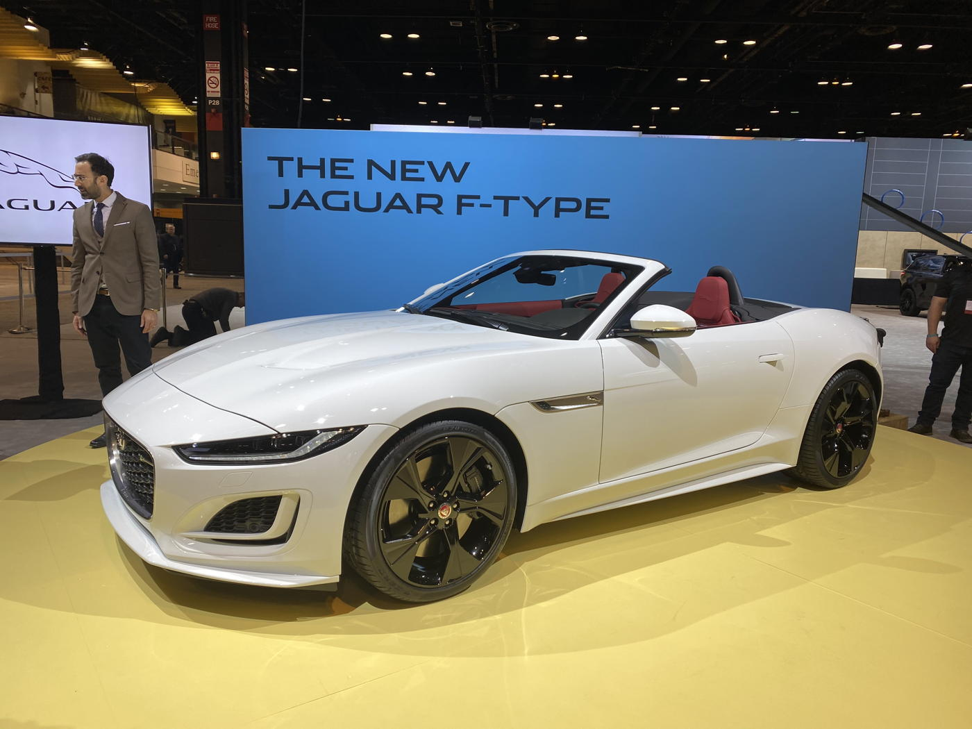2021 Jaguar F-Type at 2020 Chicago auto show