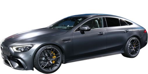 2021 Mercedes AMG GT 4-Door stock photo