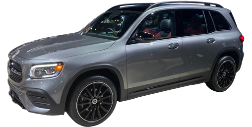 2021 Mercedes GLB stock photo