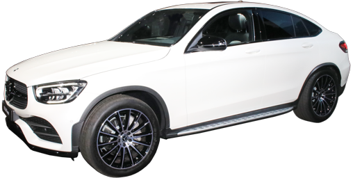 2021 Mercedes GLC Coupe stock photo