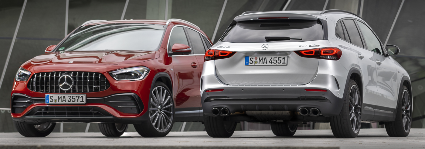 2021 Mercedes GLA 45 European courtesy MB USA