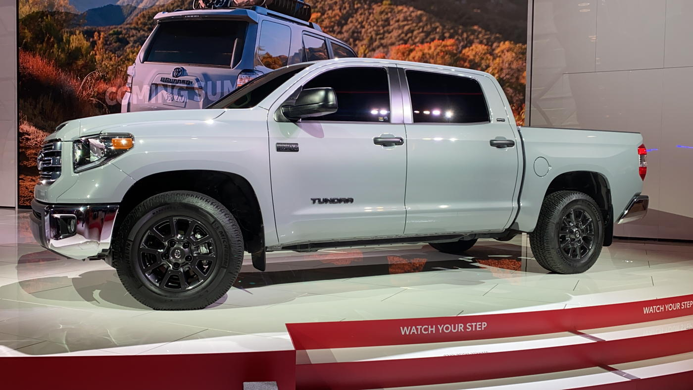 2021 Toyota Tundra Trail Edition at 2020 Chicago auto show