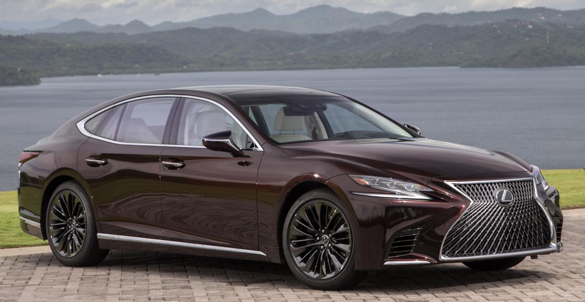 2020 Lexus LS 500 Inspiration