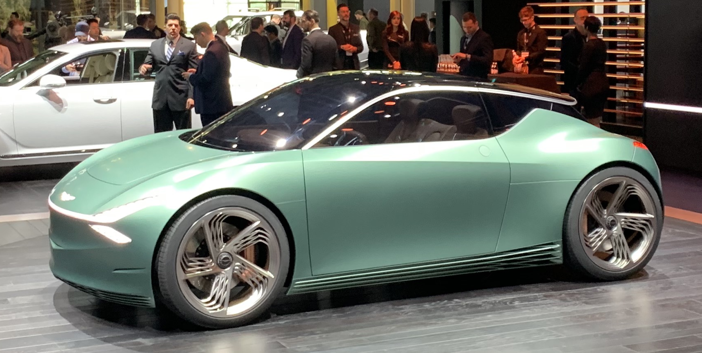 Genesis Mint Concept Electric Car