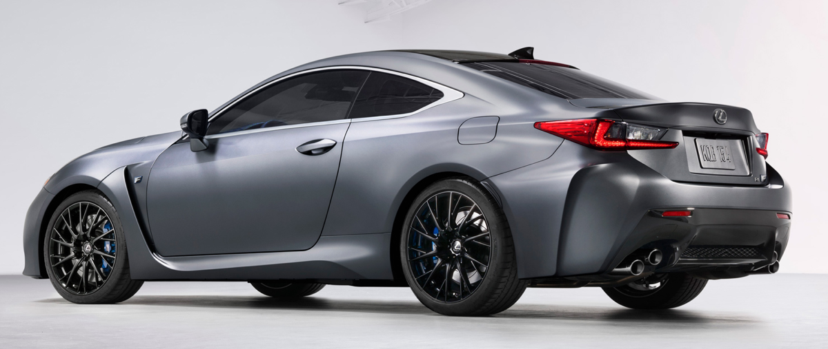 2019 Lexus RC F 10th Anniversary via TMS