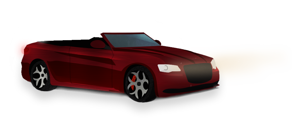 New Large Chrysler Convertible