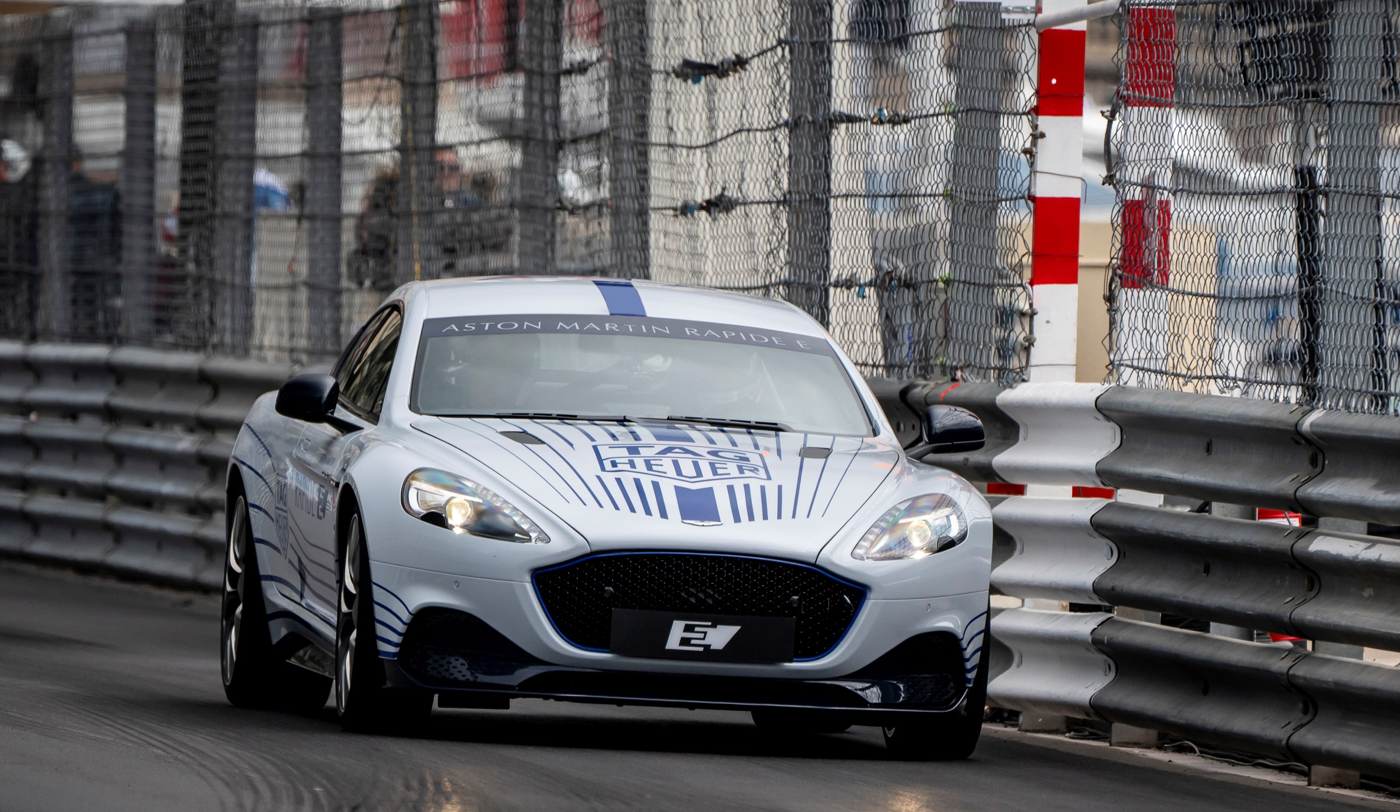 Aston Martin Rapide E at Monaco