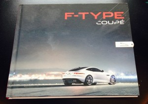 Jaguar F-Type Coupe Hardcover Book