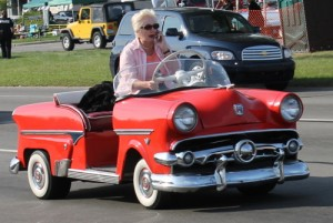 1955 Ford Mini with Grandma