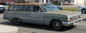 1963 Chevrolet Bel Air Station Wagon unrestored