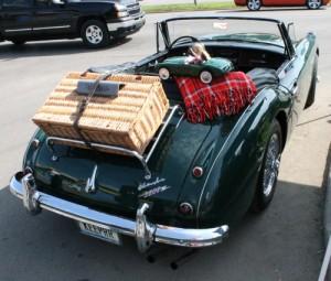 Austin-Healey 3000 back