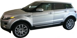 2012 Range Rover Evoque 5 Door