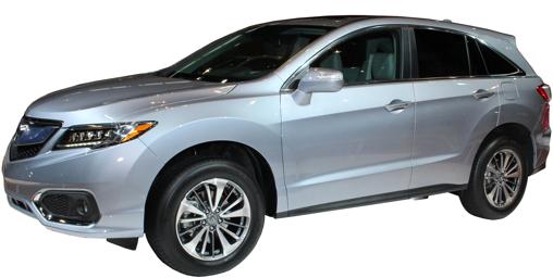 Large 2016 Acura RDX