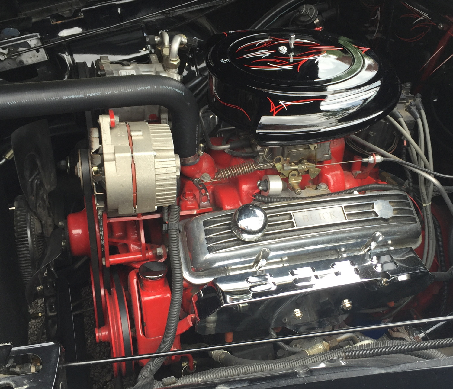 60's V8 engine in 1951 Buick
