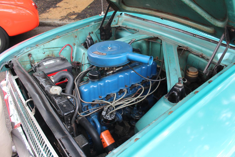 1961 Ford Falcon 144 CID 6-cylinder 90 horsepower