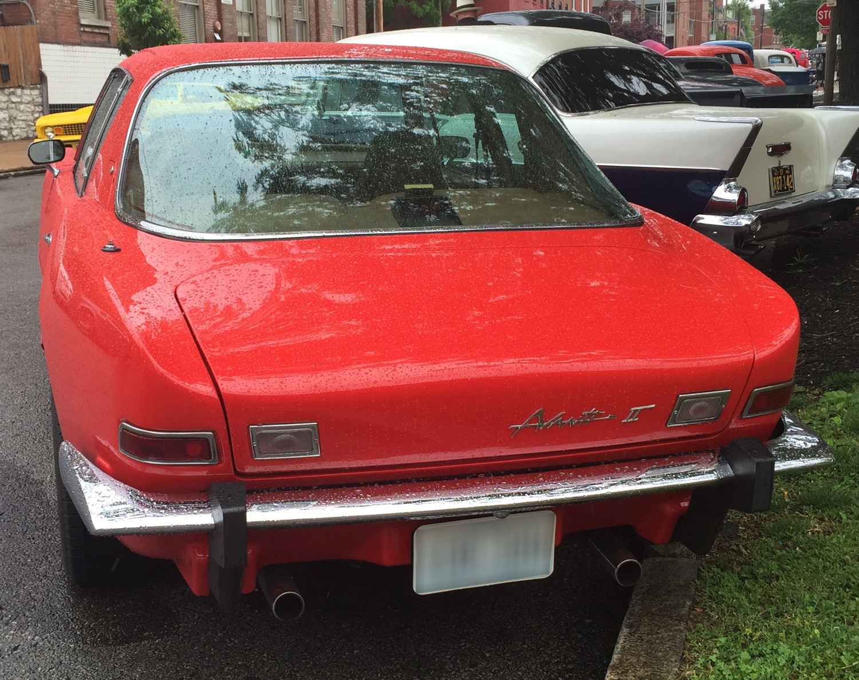 1981 Avanti rear