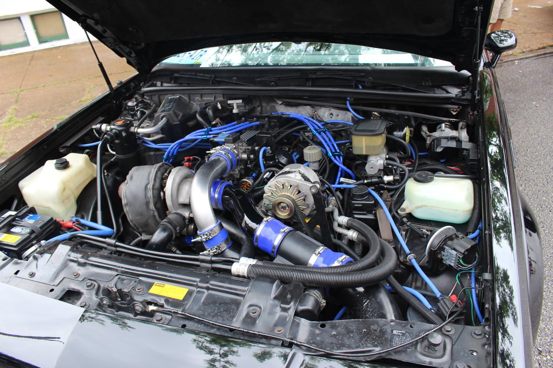 1987 Buick Grand National Turbo 3.8 V6, 245 horsepower stock