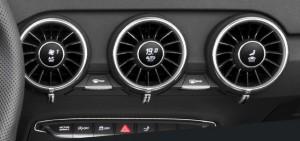 climate controls Audi TT