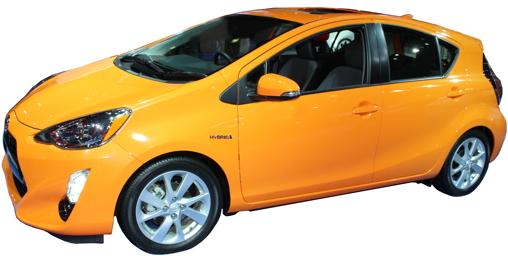2016 Toyota Prius c Four