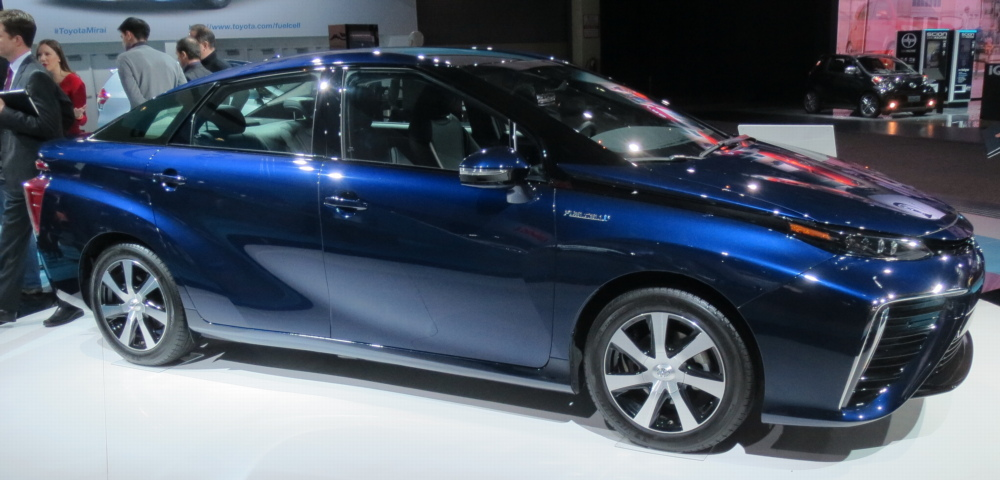2016 Toyota Mirai Hydrogen Fuel Cell Car