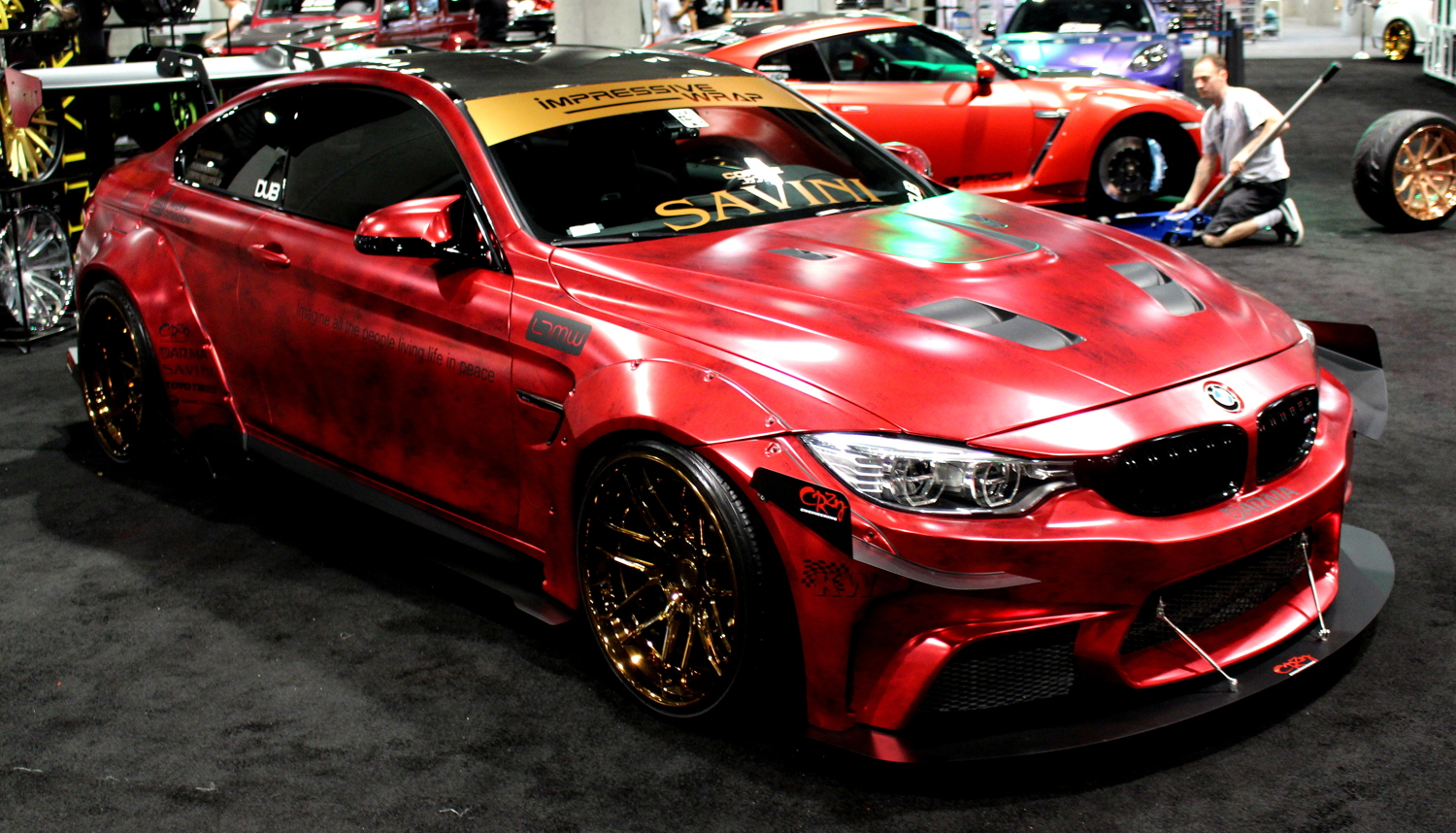 Custom Wrapped BMW