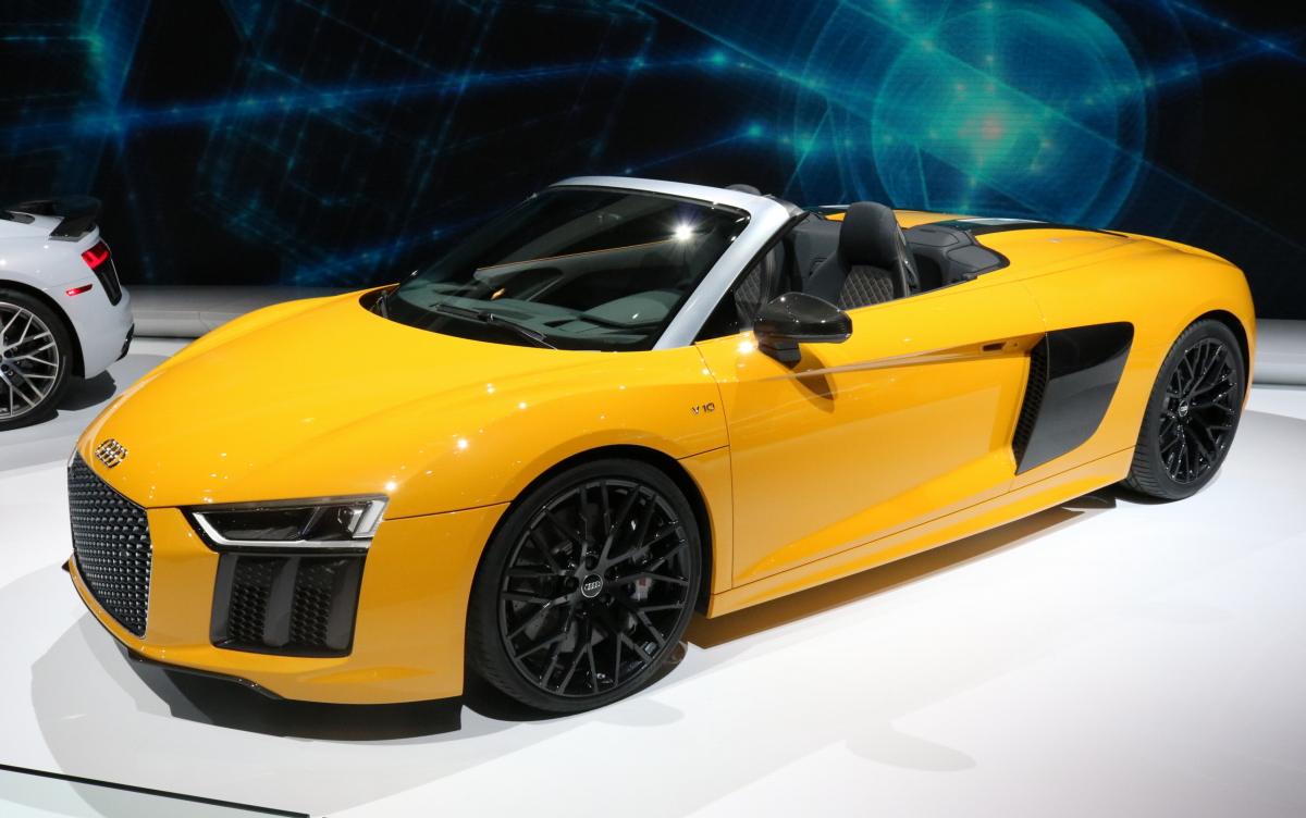 2017 Audi R8 Spyder unveiled at New York Auto Show 2016